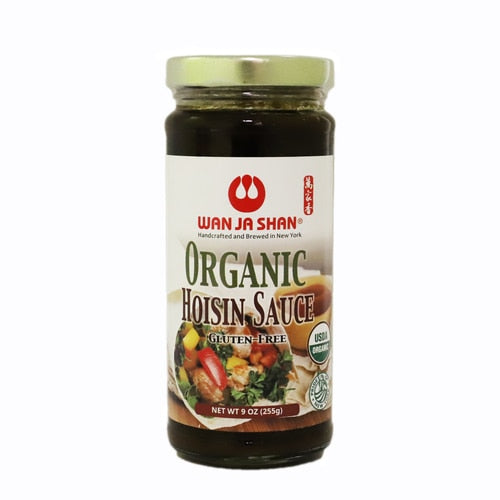 WJS Organic Hoisin Sauce(1 Bottle) - 萬家香有機海鮮醬 (1瓶 / 8oz)