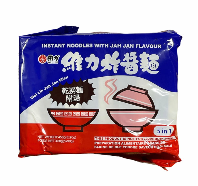 Instant Noodle with Jah Jan Flavour Wei Lih (5 Pack)