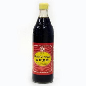 Kong Yen Black Vinegar (Black) - 工研烏酢 (1瓶/20.2FL OZ)