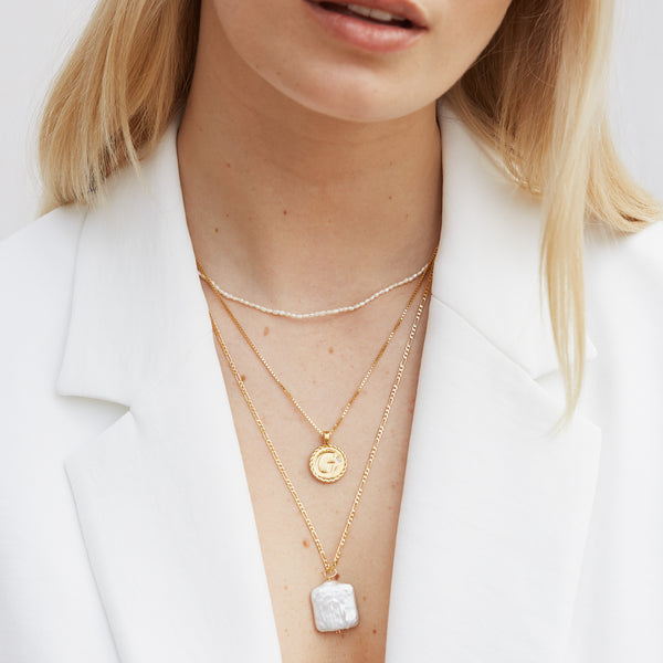 The Maggie Pearl Necklace