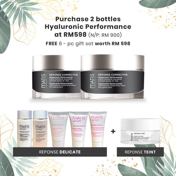 Hyaluronic Performance - Free 6-pc Gift Set worth RM598