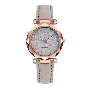 Starry Sky Wrist Watch Leather Band - SHIMOH