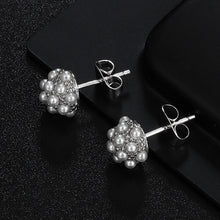 Load image into Gallery viewer, Hongye Natural Freshwater Pearl Stud Earrings - SHIMOH