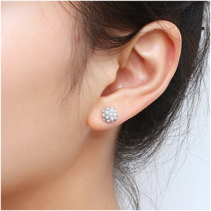 Hongye Natural Freshwater Pearl Stud Earrings - SHIMOH