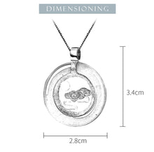 Load image into Gallery viewer, Lotus Fun Real 925 Sterling Silver Handmade Peace Clouds Pendant without Necklace - SHIMOH
