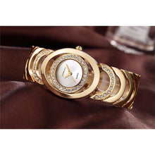 Load image into Gallery viewer, Gold Watch Women Luxury Brand bracelet - SHIMOH
