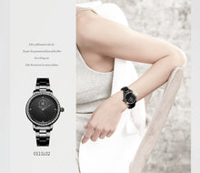 Load image into Gallery viewer, SK Diamond Geneva Design Women's Watch