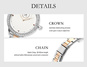 SK Diamond Geneva Design Women's Watch
