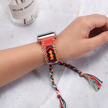 Load image into Gallery viewer, Braided rope strap bracelet belt Handmade watchbands for iwatch - SHIMOH
