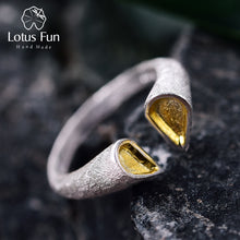 Load image into Gallery viewer, Lotus Fun Real 925 Sterling Silver Ring LFJD0035 - SHIMOH