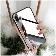 Load image into Gallery viewer, Luxury Full Mirror Silicone iphone Case