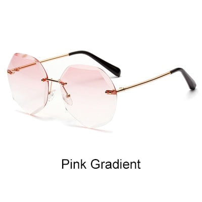 Oversized Rimless Women Sunglases  881309 - SHIMOH