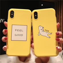 Load image into Gallery viewer, Yellow Cartoon Phone Cases For iPhone