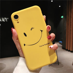Yellow Cartoon Phone Cases For iPhone