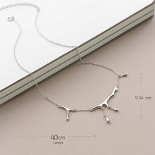Load image into Gallery viewer, Thaya Water Drop S925 Sterling Silver Choker Necklace - SHIMOH