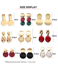 Load image into Gallery viewer, X&P Statement Drop Earrings - SHIMOH