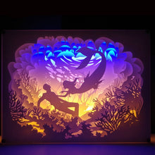 Load image into Gallery viewer, 3D Paper Carving Night Light