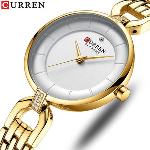 CURREN Slim Stainless Steel Watches - SHIMOH