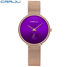 Load image into Gallery viewer, CRRJU Women Watches - SHIMOH