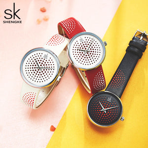 SK Vintage Plaid Women Watches