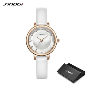 SINOBI Ripple Diamond Women Watches