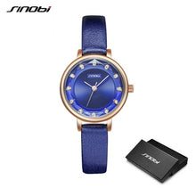 Load image into Gallery viewer, SINOBI Ripple Diamond Women Watches