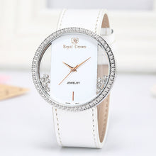 Load image into Gallery viewer, Luxury Rhinestones Clear Watch