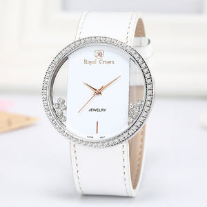 Luxury Rhinestones Clear Watch