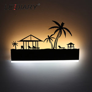 LEDIARY Romantic LED Wall Night Light