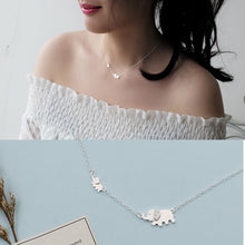 Load image into Gallery viewer, Cute Elephant Design Fashion Charming Necklace 925 Sterling Silver - SHIMOH