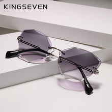 Load image into Gallery viewer, KINGSEVEN Rimless Sunglasses - SHIMOH