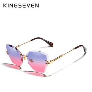 KINGSEVEN Rimless Sunglasses - SHIMOH