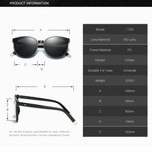 Load image into Gallery viewer, Flat Oversized Cat Eye Sunglasses - SHIMOH
