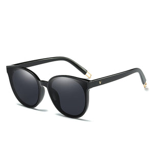 Flat Oversized Cat Eye Sunglasses - SHIMOH