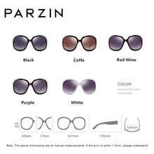 Load image into Gallery viewer, PARZIN Polarized Oversized Sunglasses 6216 - SHIMOH