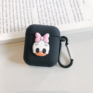 Silicone Cover Protective Case With Hook For Airpod Charger box - SHIMOH