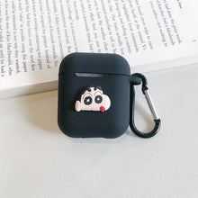 Load image into Gallery viewer, Silicone Cover Protective Case With Hook For Airpod Charger box - SHIMOH