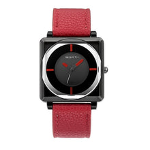 Load image into Gallery viewer, Square Women Watches with Leather Band
