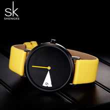 Load image into Gallery viewer, SK Creative Women's Watches with Leather Band