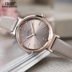 IBSO Crystal Bracelet Watches Set