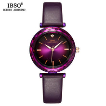 Load image into Gallery viewer, IBSO Crystal Watches with Leather band