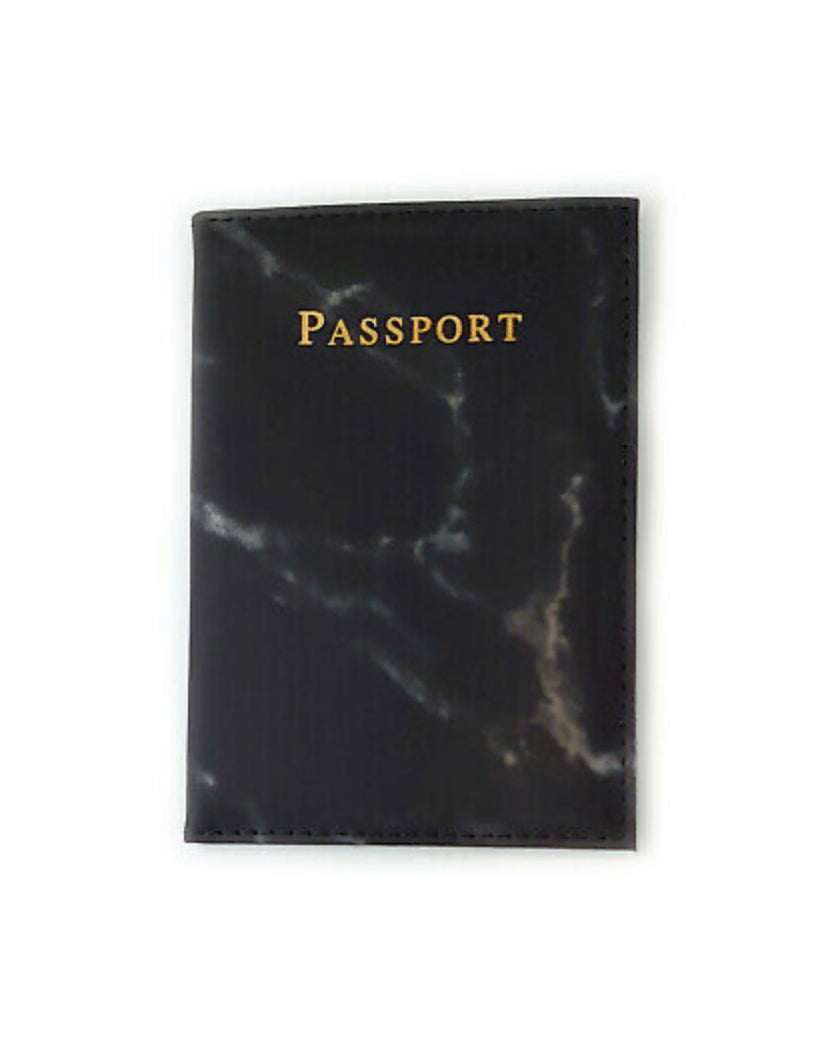 The Marble Effect Passport Cover