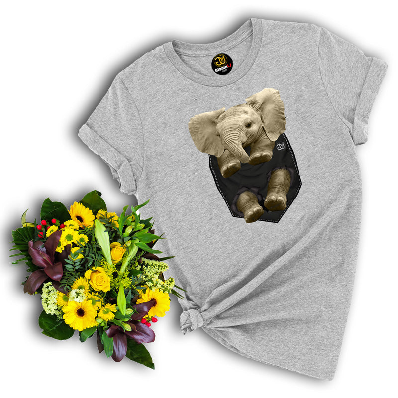 baby elephant t shirt, elephant t shirt, animal t shirt, gray t shirt