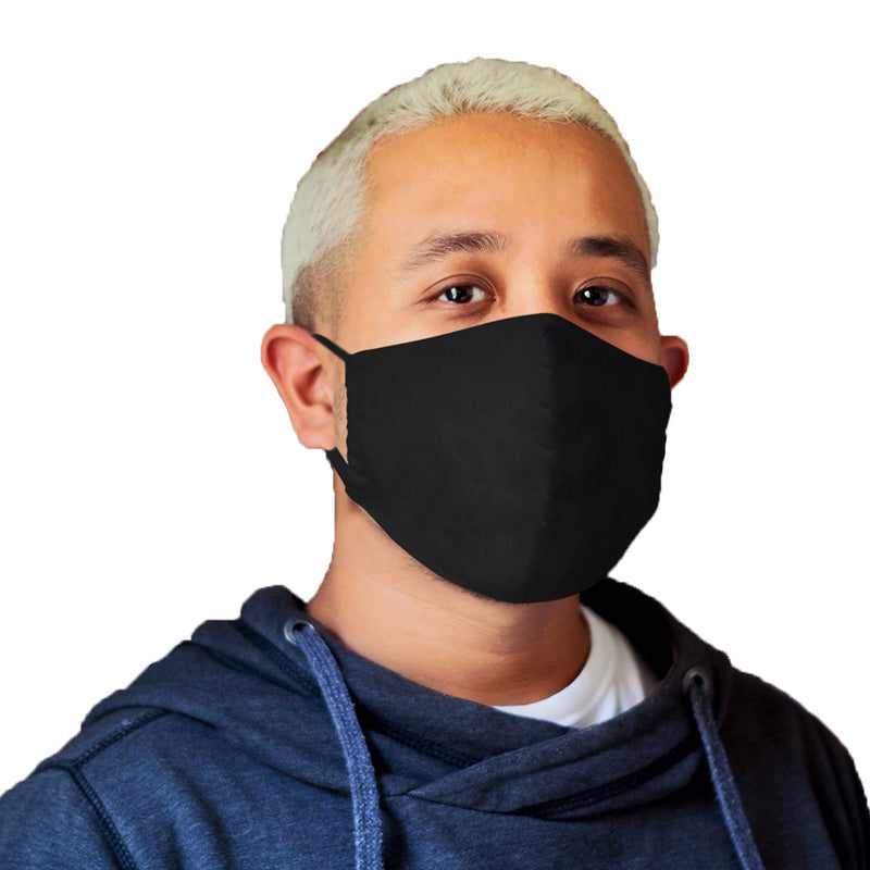 black face mask for men, black face mask