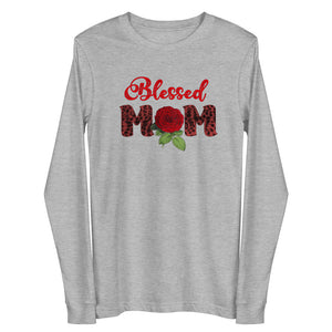 Blessed Mom Long Sleeve T Shirt