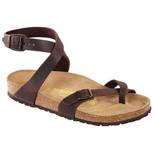 Load image into Gallery viewer, BIRKENSTOCK Yara Classic Footbed Oiled Leather Regular Width for Women