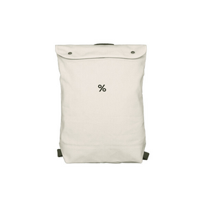 Backpack Small size White Colour with % ARABICA logo