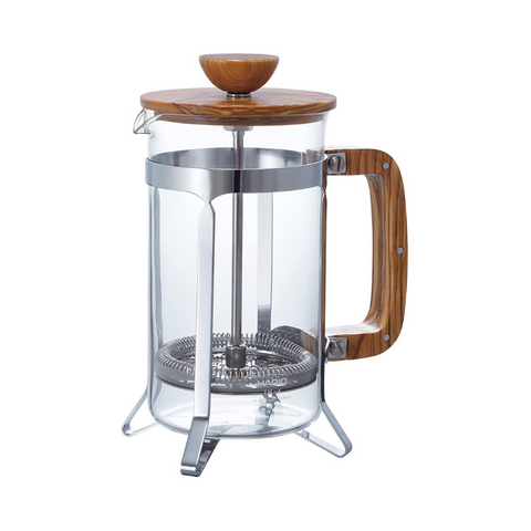 Hario Olivewood Cafépress Coffee and Tea Press - 600ml