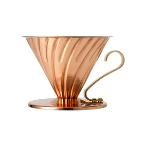 V60 Metal Coffee Dripper - Copper - 2 Cup