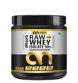 Raw + whey isolate 90% 250gm